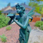 Neunkirchen/Saarland: Bronzefigur SELENE, 90 cm