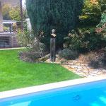 Falkensee b. Berlin: Bronzebüste JANUS (Römischer Knabe)
