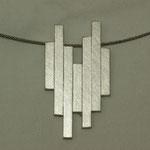 Silberanhänger aus Vierkantstäben