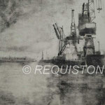Mireille REQUISTON artiste peintre monotype