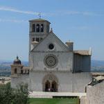 Die Kathedrale von Assisi