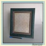 MARCO GRANDE LANE MADERA COLORES INDIGO Y GRIS / REF: MAR-026/ (foto) 20 x 25 cms./ Arriendo: $ 3.000 / Garantía: $ 12.000