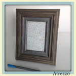MARCO LANE MADERA 2 TONOS GRISES / REF: MAR-027 / (foto) 10 x 15 cms./ Arriendo: $ 2.500 / Garantía: $ 10.000
