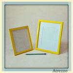 Marco color pequeño AMARILLO/ REF: MAR-020 / 22 x 27 cms. / Arriendo: $ 1.500 / Garantía: $ 5.000