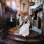Freie Trauung auf Schloss Büdingen © Sergej Falk