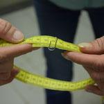 Kontrollmaß der Zugabe von 6 cm
