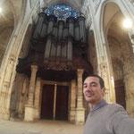 """Rouen (F) - Visita al Cavaillé-Coll dell'Abbazia di StOuen, definito il """"michelangelo"""" degli Organi - 2015"""
