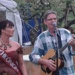 Auf dem Obsthof Wels in Glindow hatte ich Unterstützung von der zauberhaften Glindower Kirschkönigin Sandra Große. Danke, das war ein schöner Abend!