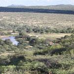 Landschaft um die Farm