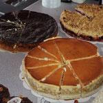 Auch der Kuchen sah recht lecker aus ...