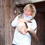 Ich mag die Katzenmama sehr ...