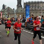 Die Strecke war gut und der Lauf hat Spaß gemacht ...