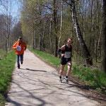 Hier kommt Johann Gehrisch - er lief die 29,6 km in 1:51:50 h ...