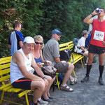 """Noch ein paar Minuten bis zum Start der """"13,5-Kilometer-Strecke"""" ..."""