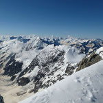 Der Blick in die Berge ist phänomenal ...
