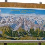 Bergstation vom Sessellift ...