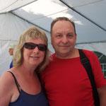 Dieter Grüner wird auch wieder von seiner Frau Marion begleitet ...
