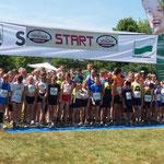 """15.00 Uhr startet der """"4-Kilometer-Lauf"""" ..."""