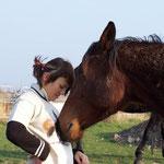 31.03.2007 - Anka stubbst Eva in den Bauch ...