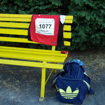 Stillleben - viele Läufer sind schon auf dem Heimweg ...