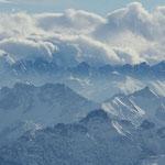 Und nochmal Berge ...