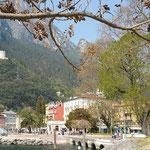 So schön ist es in Riva del Garda am Hafen ...