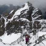 Die Kletterpartie geht weiter ...