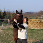 31.03.2007 - Eva schäkert mit Anka rum ...