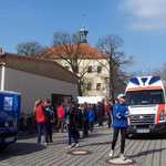 """Treffpunkt zum Wilischlauf am """"Schloß Röhrsdorf"""" bei Borthen ..."""