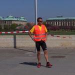 13.15 Uhr - jetzt kommen fast nur noch die Marathonis ...