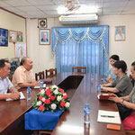 ヴィエンチャン教育局訪問