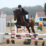 Brock Song n Dance, Poney 3, Milsey Jump Bonneval, 26/10/14