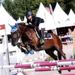 Brock Song n Dance (GB) en Poney 1 C_Generali Open de Fr 2016