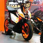 KTMのコンセプトスクーター。欲しい!