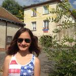 Anja- und im Hintergrund das House of Liechtenstein