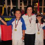 Gold - Silber - Gold EFAC 2011 Oeiras Portugal - Europameisterschaft Field/hunter