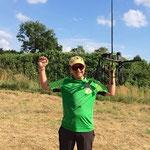 Vize Europameister 3-D 2014 Confolens / Frankreich