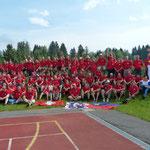 Gruppenfoto Mit Team Schweiz Europameisterschaft 3-D Italien 2012
