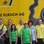 Franz Elkuch AG Verabschiedet sich von Stefan und Anja zum EBHC 2014
