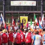 Offiziele Eröffnungszeremonie EBHC 2014 Confolens / France