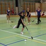 Sportskanone Anja am Ball