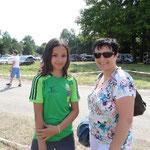 Anja und mum