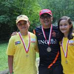Vorarlberger Landesmeisterschaft 2013 Stefan, Anja Gold Dad Bronze