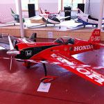 Flugmodell-Ausstellung