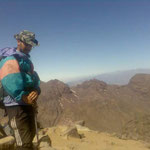 hieghst mont in morocco (toubkal 4167m)