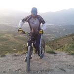 with my bike