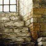 Nella prigione 70x100 cm