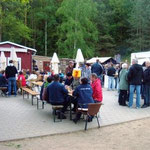 Herrentags-Party am Roten See in Brüel
