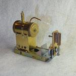 蒸気機関組立てキット完成状態