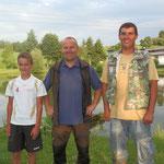 Die erfolgreichen 3:  Eigner Thomas, Renhart Manfred und Wiesinger Tobias
